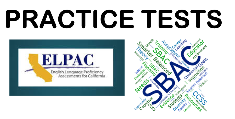 ELPAC and SBAC Practice Tests