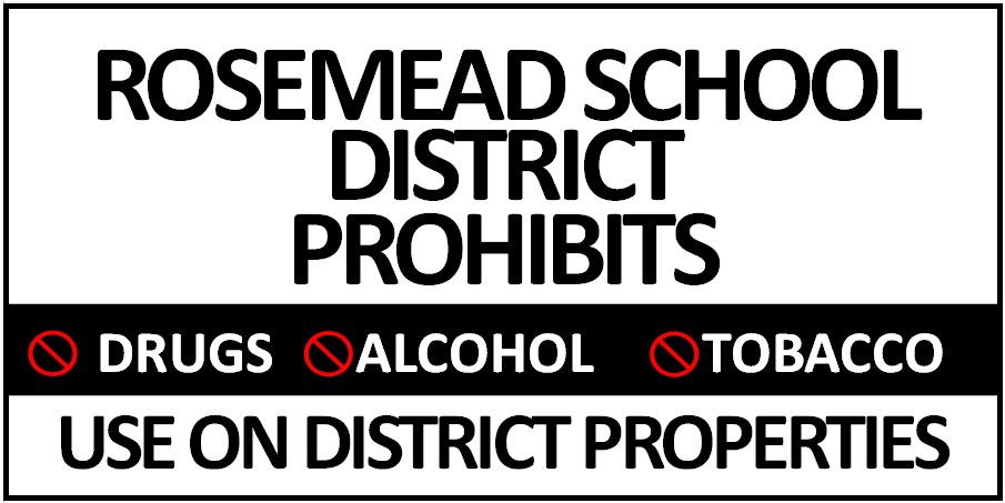 RSD Prohibits Drugs, Alcohol, and Tobacco Use on District Properties