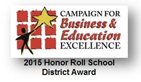 Rosemead School District Awarded 2015 Honor Roll School District Award for its Five Schools