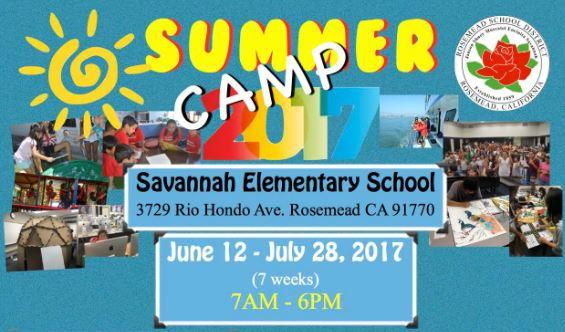 2017 RSD Summer Day Camp